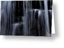 Rock Glen Water Falls Greeting Card