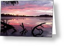 Rock Lake Greeting Card