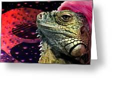 Rock Lizard Greeting Card
