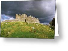 Rock Of Cashel, Cashel, Co Tipperary Greeting Card