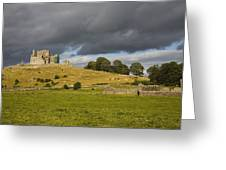 Rock Of Cashel, Cashel, County Greeting Card