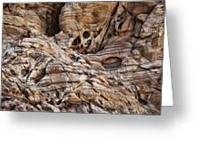 Rock Texture Greeting Card by Kelley King