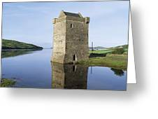 Rockfleet Castle On Clew Bay, County Greeting Card