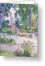 Rockport Ontario Old Andress Boatworks House Greeting Card