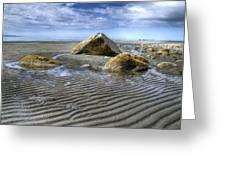 Rocks And Sand Greeting Card