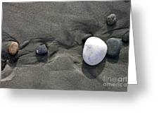 Rocks And Sand  Greeting Card