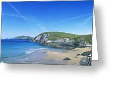 Rocks On The Beach, Coumeenoole Beach Greeting Card