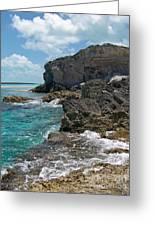 Rocky Barrier Island Greeting Card