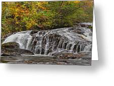 Rocky Cascade Greeting Card
