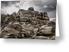 Rocky House Greeting Card