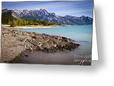 Rocky Mountain Bliss Greeting Card