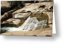 Rocky Mountain Cascades Greeting Card