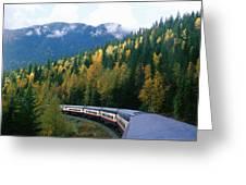 Rocky Mountain Rail Tours, Jasper Greeting Card