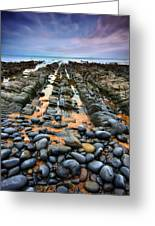 Rocky Road To Nowhere Greeting Card by Mark Leader