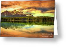Rocky Sunrise Greeting Card