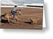 Rodeo 10 Greeting Card