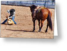 Rodeo 11 Greeting Card