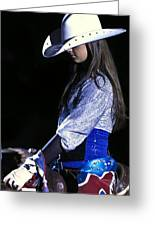 Rodeo Queen Greeting Card