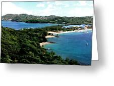 Rodney Bay St. Lucia Greeting Card