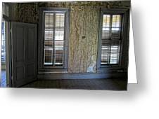 Roe - Graves House Interior - Bannack Ghost Town Greeting Card