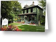 Roedde House Museum Vancouver Canada Greeting Card