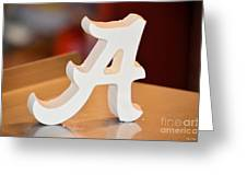 Roll Tide Greeting Card by Maria Urso