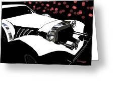 Rollin Rollin Rolls Royce Greeting Card