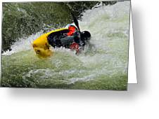 Rolling Down The River  Greeting Card