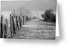 Rolling Fence Greeting Card