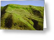 Rolling Hills On Highway 60 Greeting Card