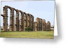 Roman Aquaduct Greeting Card