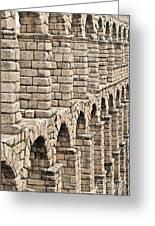 Roman Aqueduct Segovia Greeting Card