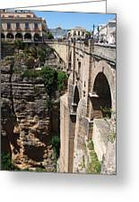 Roman Bridge Of Ronda Greeting Card