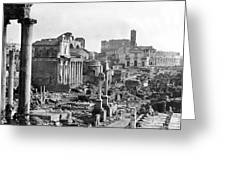 Roman Colosseum - Italy -  C 1906 Greeting Card