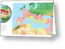 Roman Empire, Artwork Greeting Card