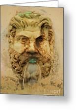 Roman Fountain Greeting Card