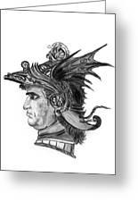 Roman Gladiator Greeting Card