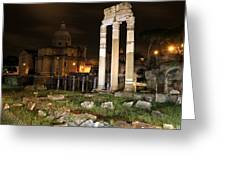 Roman Ruins 1 Greeting Card