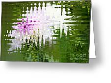 Romance In Paris - Abstract Art Greeting Card