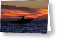 Romance On The Seas Greeting Card