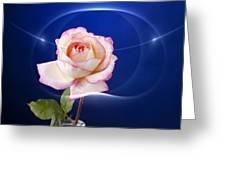 Romance Rose Greeting Card by M K  Miller