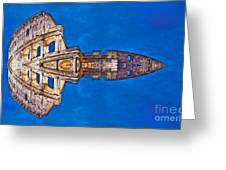 Romano Spaceship - Archifou 73 Greeting Card