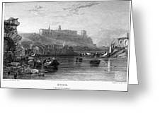 Rome: Aventine Hill, 1833 Greeting Card by Granger