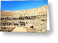 Rome Coliseum Greeting Card
