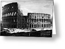 Rome: Colosseum, C1864 Greeting Card