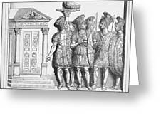 Rome: Praetorian Guards Greeting Card