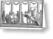 Rome: School Punishment Greeting Card