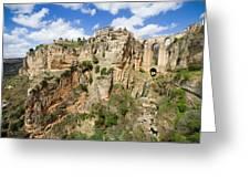 Ronda Rocks In Andalusia Greeting Card