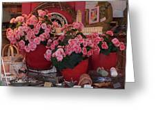 Ron's--a Favorite Store In Grover Beach Ca Greeting Card