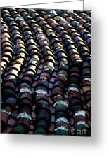 Roof Tiles 2 Greeting Card
